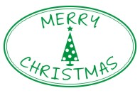 Create unique holiday cards and crafts with our self-inking oval Merry Christmas holiday rubber stamp in your choice of 11 ink colors. Shop now and get free shipping over $15. Several styles to choose from.