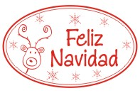 Create unique holiday cards and crafts with our self-inking oval Feliz Navidad holiday rubber stamp in your choice of 11 ink colors. Shop now and get free shipping over $10. Several styles to choose from.