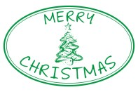 Create unique holiday cards and crafts with our self-inking oval Christmas Tree holiday rubber stamp in your choice of 11 ink colors. Shop now and get free shipping over $15. Several styles to choose from.
