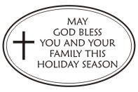 Create unique holiday cards and crafts with our self-inking oval God Bless holiday rubber stamp in your choice of 11 ink colors. Shop now and get free shipping over $15. Several styles to choose from.
