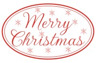Create unique holiday cards and crafts with our self-inking oval Script Merry Christmas holiday rubber stamp in your choice of 11 ink colors. Shop now and get free shipping over $15. Several styles to choose from.