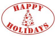 Create unique holiday cards and crafts with our self-inking oval Happy Holidays Tree holiday rubber stamp in your choice of 11 ink colors. Shop now and get free shipping over $15. Several styles to choose from.