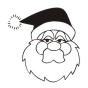 Create unique holiday cards and crafts with our self-inking Santa Face holiday rubber stamp in your choice of 11 ink colors. Shop now and get free shipping over $15. Hundreds of styles to choose from.