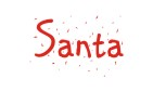 Order one of our official Santa Print signature rubber stamps when stamping notes and crafts.  Many designs to choose from in your choice of 11 ink colors. Free shipping on orders over $10.