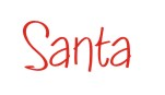 Order one of our official Santa Simple signature rubber stamps when stamping notes and crafts.  Many designs to choose from in your choice of 11 ink colors. Free shipping on orders over $10.