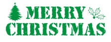 Merry Christmas Rubber Stamps. Holiday. Santa. Christmas trees. Santa. Stars, candy canes and more. Self Inking. Secure order online. RubberStampChamp.com Knockout Prices.