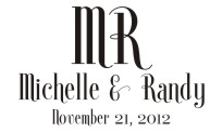 Personalize your wedding cards and notes with our unique pre-inked wedding name rubber stamp style 918. Many designs to choose from in your choice of 11 ink colors. Free shipping on orders over $10!