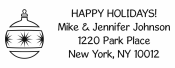 Personalize your holiday cards with a custom holiday address stamp in your choice of 11 ink colors! Quick and free shipping on orders over $10!  Many styles to choose from including Style 4027