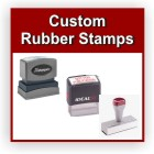 Customized stamps at Knockout Prices. Self ink stamps. Custom self inking rubber stamps. Custom wood stamps. Free shipping. Design, proof and order online. RubberStampChamp.com.