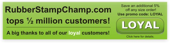 Ready, get set, save...with RubberStampchamp.com loay customer discount codes.