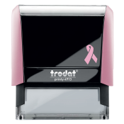 Show your support and customize free with text or your logo in your choice of 11 ink colors.  Ships in 1-2 business days.  Top quality self-inking stamp.  Orders ship free over $10.