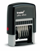 Trodat® Stock Numberers. Stock Numberers.  Numberers.  Automatic numbering machines. Numbering stamps from Xstamper, Istamp, Trodat, and Ideal.  Rubber Stamps at Knockout Prices from Rubber Stamp Champ.