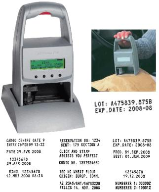 Reiner® Electronic JetStamp 790 Complete Time Date Stamp Kit