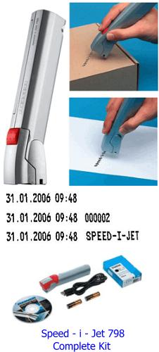 Reiner® Speed-i-Jet 798 Complete Time Date Stamp Kit