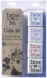 MEMORIES -TATOO CUBES - Memories Tattoo Cube Stamp Pads-Set of 4