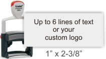 Business Return Address Stamps At Knockout Prices From rubberStampchamp.com