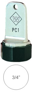 Top Quality Inspection Rubber Stamps come with aluminum case and solid neoprene plug. Use with industrial inks or traditional stamp pad. Knockout prices and free shipping at RubberStampChamp.com.