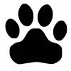 Paw Print-1 self-inking rubber stamps in your choice of 11 ink colors. Hundreds of other images to choose from. Order online now and get free shipping on orders over $10.