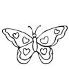 Butterfly Stock Rubber Stamps in your choice of 11 ink colors. Easy online secure ordering. Free shipping on orders over $10.
