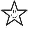 Star Stock Rubber Stamps in your choice of 11 ink colors. Easy online secure ordering. Free shipping on orders over $10.
