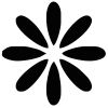 Flower-1 self-inking rubber stamps in your choice of 11 ink colors. Hundreds of other images to choose from. Order online now and get free shipping on orders over $10.