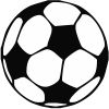 Soccer Ball Stock Rubber Stamps in your choice of 11 ink colors. Easy online secure ordering. Free shipping on orders over $10.
