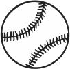 Baseball Stock Rubber Stamps in your choice of 11 ink colors. Easy online secure ordering. Free shipping on orders over $10.