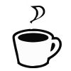 Coffee Cup - 9 self-inking rubber stamps in your choice of 11 ink colors. Hundreds of other images to choose from. Order online now and get free shipping on orders over $10.