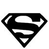 Superman Stock Rubber Stamps in your choice of 11 ink colors. Easy online secure ordering. Free shipping on orders over $10.