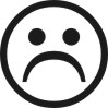 Sad Face 3 self-inking rubber stamps for teachers.  Hundreds of messages to choose from in 11 different ink colors. Free shipping on orders over $10..