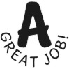A - Great Job self-inking rubber stamps for teachers.  Hundreds of messages to choose from in 11 different ink colors. Free shipping on orders over $10..