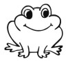 Frog self-inking rubber stamps for teachers.  Hundreds of messages to choose from in 11 different ink colors. Free shipping on orders over $10..