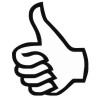Thumbs Up 3 self-inking rubber stamps for teachers.  Hundreds of messages to choose from in 11 different ink colors. Free shipping on orders over $10..