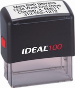 Top quality self-inking Indiana notary stamp ships in 1-2 days. Meets all state specifications and requirements. Free shipping on orders over $10!