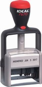 Ideal® 7670 Dial-a-Phrase Dater, Self-Inking