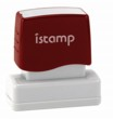Istamp pre-inked stamps come inked with no need for a separate ink pad! The IS-09 lasts for thousands of clean and crisp impressions every time and come in 11 vibrant ink colors.  Free shipping on orders over $10!
