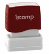 Istamp pre-inked stamps come inked with no need for a separate ink pad! The IS-10 lasts for thousands of clean and crisp impressions every time and come in 11 vibrant ink colors.  Free shipping on orders over $10!