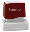Istamp pre-inked stamps come inked with no need for a separate ink pad! The IS-12 lasts for thousands of clean and crisp impressions every time and come in 11 vibrant ink colors.  Free shipping on orders over $10!