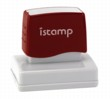 Istamp pre-inked stamps come inked with no need for a separate ink pad! The IS-16 lasts for thousands of clean and crisp impressions every time and come in 11 vibrant ink colors.  Free shipping on orders over $10!