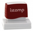 Istamp pre-inked stamps come inked with no need for a separate ink pad! The IS-22 lasts for thousands of clean and crisp impressions every time and come in 11 vibrant ink colors.  Free shipping on orders over $10!