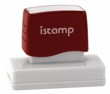 Istamp pre-inked stamps come inked with no need for a separate ink pad! The IS-23 lasts for thousands of clean and crisp impressions every time and come in 11 vibrant ink colors.  Free shipping on orders over $10!