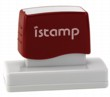 Istamp pre-inked stamps come inked with no need for a separate ink pad! The IS-24 lasts for thousands of clean and crisp impressions every time and come in 11 vibrant ink colors.  Free shipping on orders over $10!