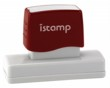 Istamp pre-inked stamps come inked with no need for a separate ink pad! The IS-26 lasts for thousands of clean and crisp impressions every time and come in 11 vibrant ink colors.  Free shipping on orders over $10!