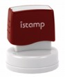 iStamp® Round Stamps for glossy or non-glossy stamping. Customize with text or your custom artwork at no extra charge! Secure order online and Knockout Prices from RubberStampChamp.com.  Free shipping.