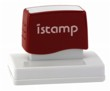 Istamp pre-inked stamps come inked with no need for a separate ink pad! The IS-60 lasts for thousands of clean and crisp impressions every time and come in 11 vibrant ink colors.  Free shipping on orders over $10!