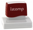 Istamp pre-inked stamps come inked with no need for a separate ink pad! The IS-66 lasts for thousands of clean and crisp impressions every time and come in 11 vibrant ink colors.  Free shipping on orders over $10!