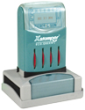 Xstamper® Daters Pre-Inked Rubber Stamps at Knockout Prices from Rubber Stamp Champ. Xstamper® and Istamp® pre inked rubber stamps. Secure online ordering. Free shipping.