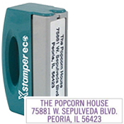 Custom Self Inking Address Rubber Stamps Ship Free At RubberStampChamp.com