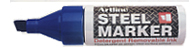 Artline® EK-05 Steel Markers. Poster markers. Paint markers. Wetrite. UV.  Magnetic erasers. RubberStampChamp.com.  Secure online ordering. Free shipping.