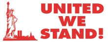 N18-911 - United We Stand Xstamper® Stock Stamp